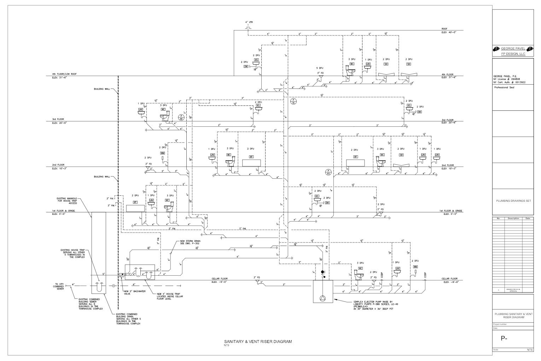 Piping    Riser       Diagram     Wiring    Diagram    M8